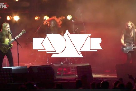 Performance LIVE de Kadavar au Los AlmirosFestival