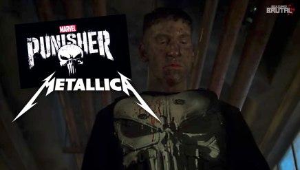Marvel's The Punisher utilise parfaitement une chanson deMetallica
