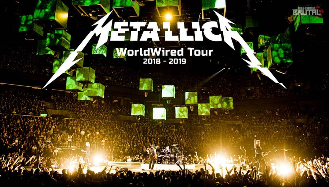metallica worldwired