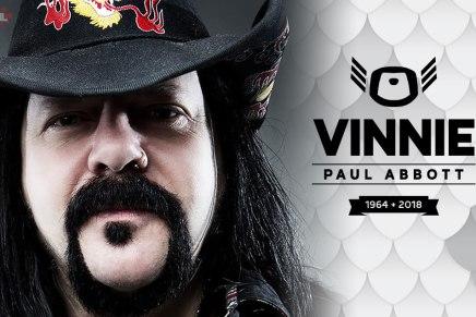 Vinnie Paul Abbott nous quitte à l'âge de 54ans