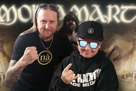 Amon Amarth : Entrevue avec le bassiste TedLundström